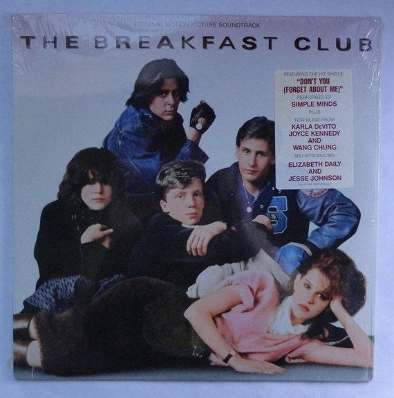 "Rare ""The Breakfast Club"" Vinyl Soundtrack (1985) - Sealed"