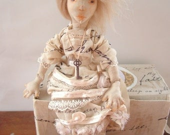 Custom Art Doll, Soft Sculpture Character Doll Inspired by Your Favorite Story, Poem, or Play