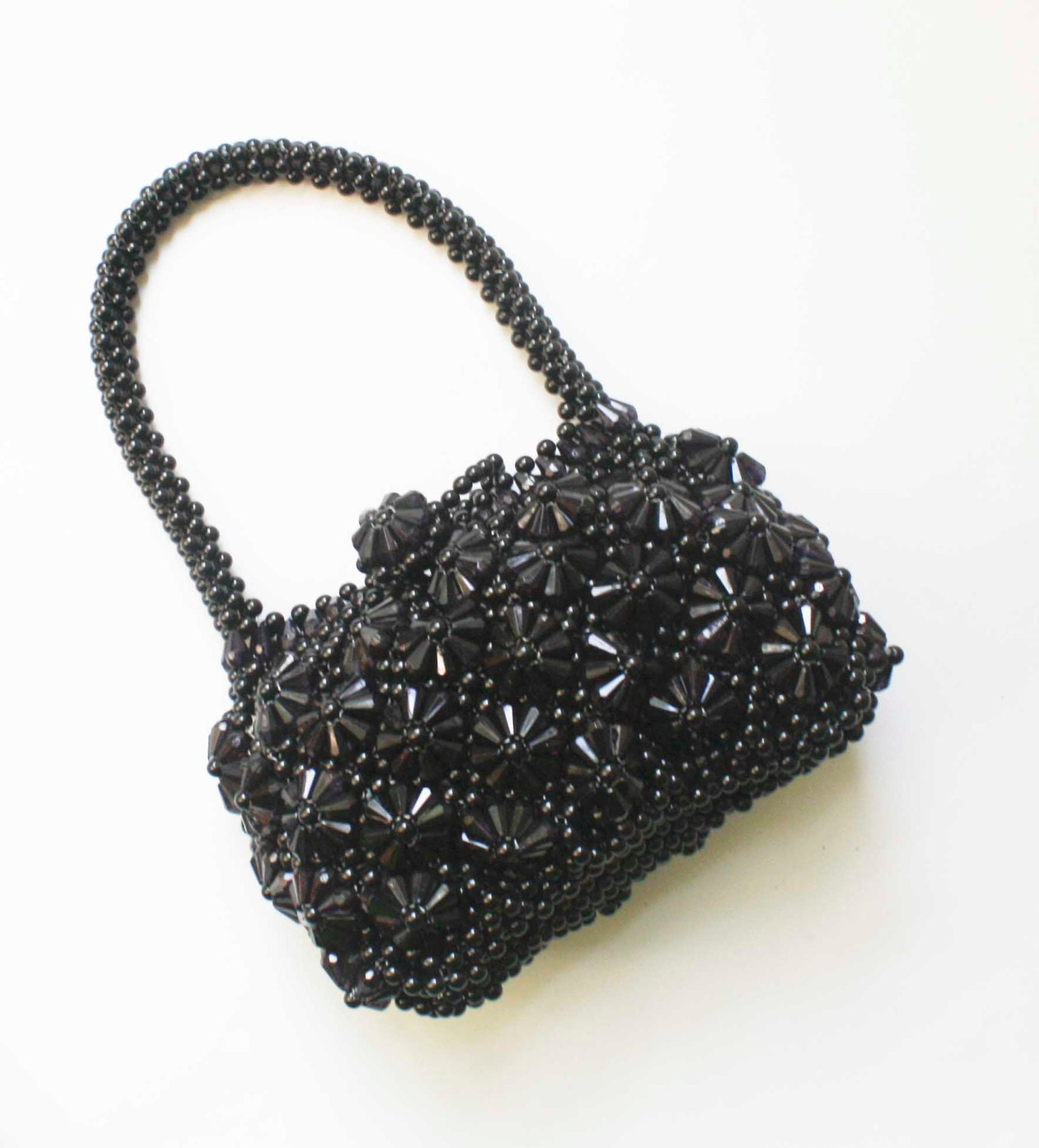 beaded small purse evening bag