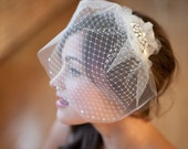 Available at Nordstrom, Double Birdcage Veil, Bridal Veil, Wedge Veil, Gabrielle
