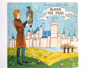 Oliver the Page, a Vintage Children's Book