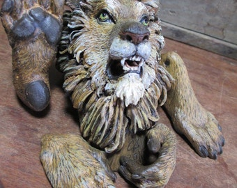 RESERVED: Majestic Lion Anthro Art Doll Parts