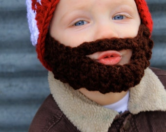 Ultimate VALENTINES Kids Bearded Beanie