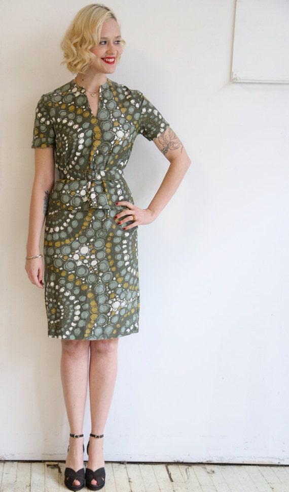 1960s Blouse & Skirt // vintage 60s 2 pc // Melanie Daniels