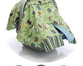 Zipitt Car Seat Canopy Sewing Pattern - Fits All Baby Car Seats - Instant Download