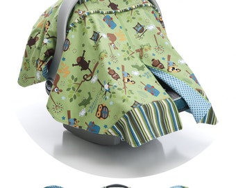 Zipitt Car Seat Canopy Sewing Pattern - Fits All Baby Car Seats - Instant Download  sc 1 st  Etsy & Baby car seat cover | Etsy