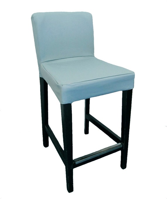 Slipcover for older ikea henriksdal bar stool barstool in - Housse chaise henriksdal ...