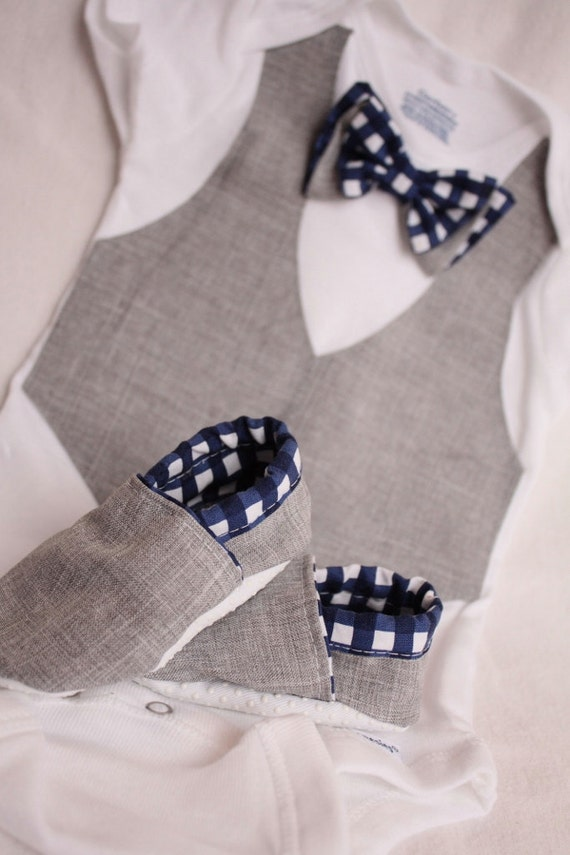 Items similar to baby boy shirt bow tie shirt baby boy for Baby shirt and bow tie