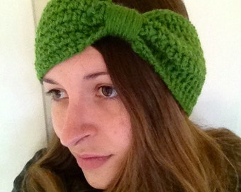 Ear warmer head wrap turban womens Crochet  - you choose colors