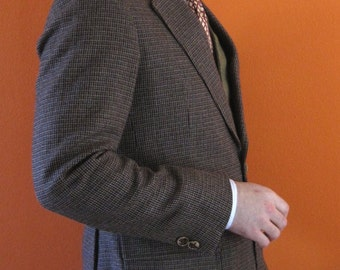 W. German Tweed Jacket sz 38