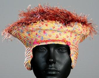 Earthy Coloured Crochet Hat...