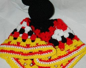 Mickey Mouse Lovey Etsy