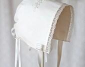 The Baby Martha Church Bonnet