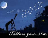 Greeting Card: Class of 2013 Follow your star