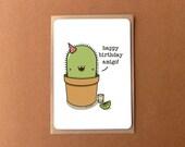 Greeting card - Happy birthday Amigo