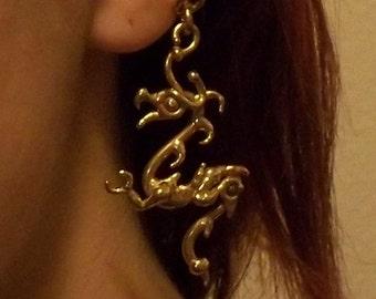 Bronze Dragon Ear Cuff