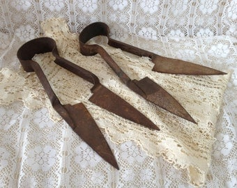 Rustic Farmhouse Tools Primitive Shears