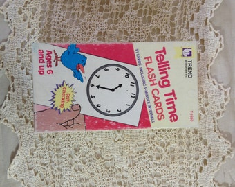 Tell Time Flash Cards Kids Flash Cards