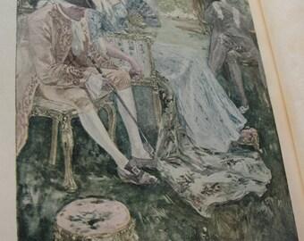 The Crossing - Winstell Churchill - copy right 1908