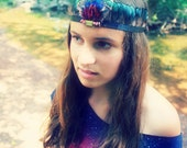 Ivy Feather Crown