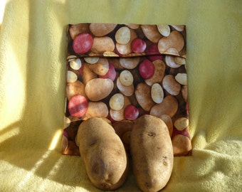 Baked Potato Bag - Microwavable, makes your potatoes taste like they were baked in the oven.