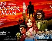 """The Wicker Man - 17 x 11"""" Digital Print"""