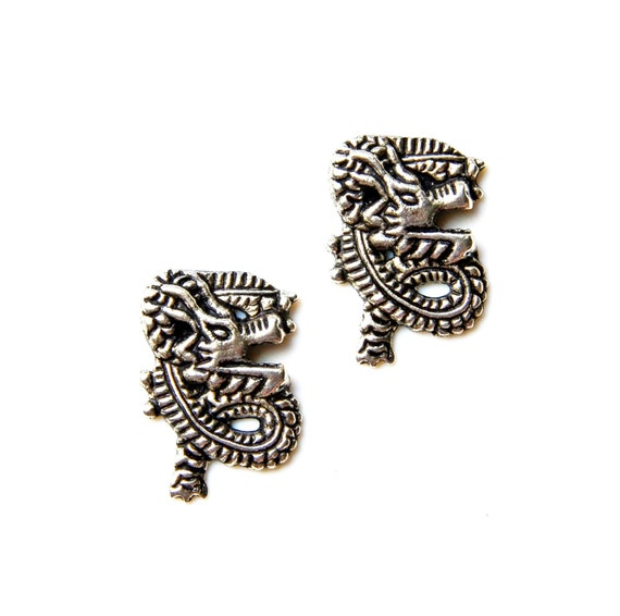 dragon cufflinks gifts for men anniversary gift handmade
