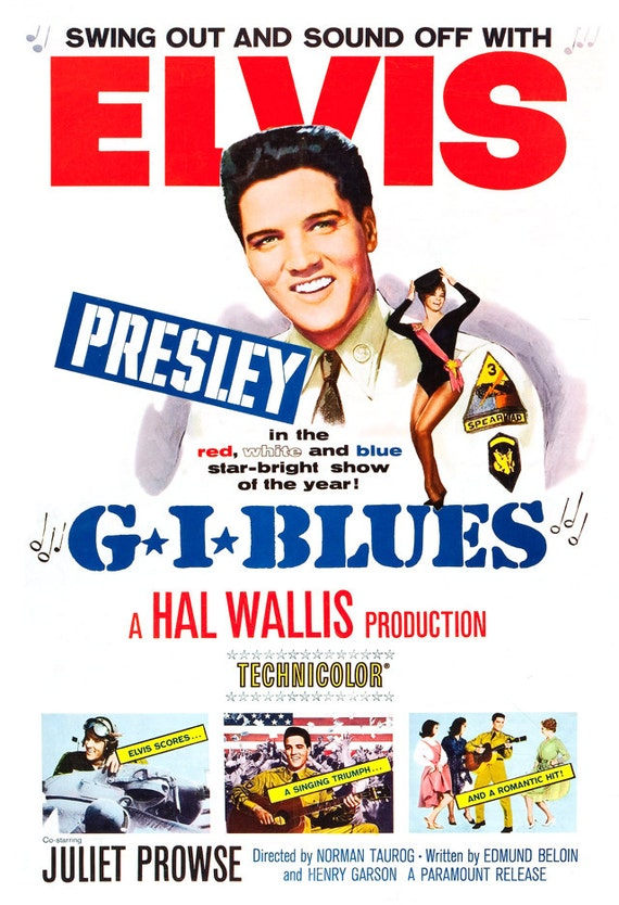 Music On Elvis On Tour Movie