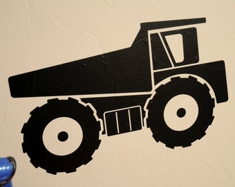 Dump Truck - Wall Decal
