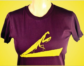 Praying Mantis, Woman's T-Shirt, Cool Womans Shirt