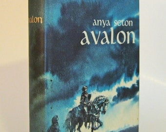 Avalon by Anya Seton  Vintage Book Exciting Novel of Medieval England in the 10th Century