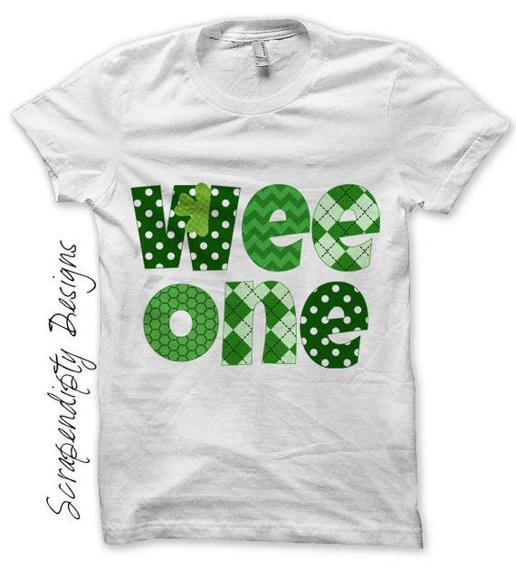 Irish Iron on Transfer - St Patricks Day Iron on / Green Celtic Baby Bodysuit / Kids Boys Clothing Tshirt / Baby St Patricks Day Shirt IT187
