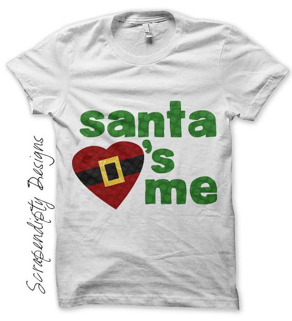 Santa Iron on Transfer Iron on Christmas Shirt PDF / Boys ...