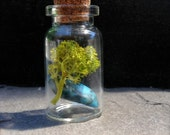 Turquoise Tree Terrarium Necklace