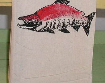 Socke it to You -  Salmon towel