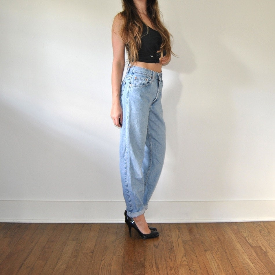 vintage levi 39 s jeans classic levis high waisted by. Black Bedroom Furniture Sets. Home Design Ideas