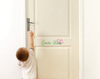 Wall Decals- Name Wall Decal - Small Decal - Girls Room Door Decal- Wall Art- Home Vinyl Wall Decals