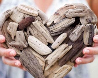 """Driftwood Heart 9"""""""