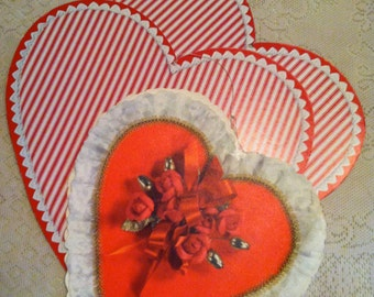 Vintage Hallmark Valentine Hearts