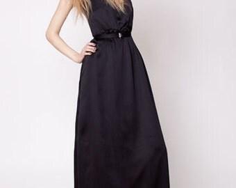 secret PAL - Maxi dress Halter Swarovskibelt