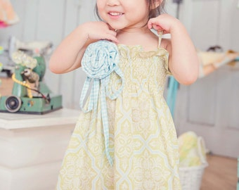 Flourish Swing Dress by Dreamspun - Sewing PATTERN and TUTORIAL -
