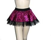 Adult tutu, Tutu style skirt, animal print tutu skirt, mini skirt tutu style