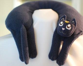Luna from Sailor Moon Travel Neck Pillow