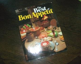 Vintage Cookbook The Best of Bon Appetit HC