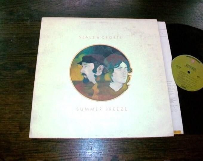 Seals & Crofts Record Album Summer Breeze 1971 Vintage Vinyl