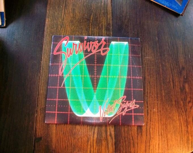 Survivor Vital Signs Record Album 1984 Vintage Vinyl