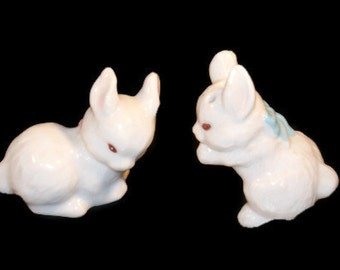 Cute Bunny Salt & Pepper Shakers