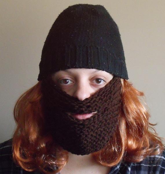 Beard Hat Knitting Pattern : Items similar to Beard for hat Pattern for the Knitting Loom on Etsy