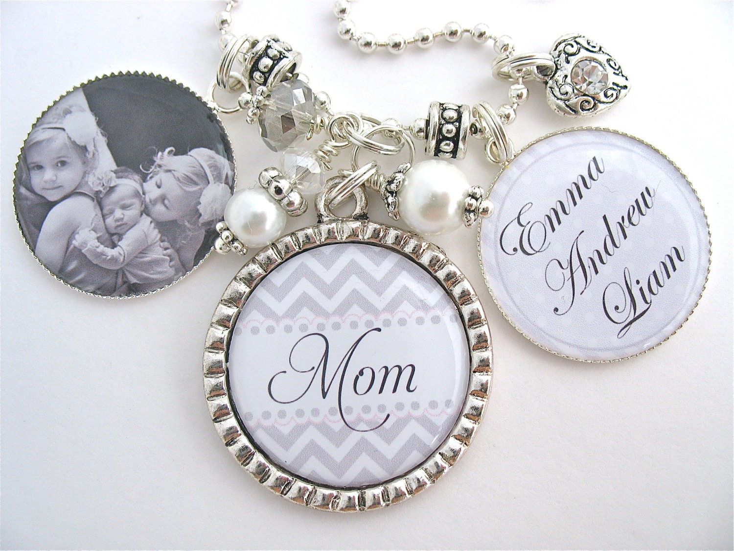 personalized mother gift mother necklace mothers day gift. Black Bedroom Furniture Sets. Home Design Ideas