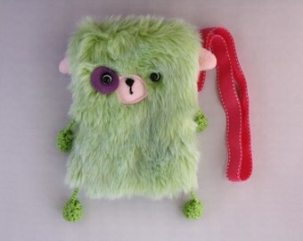 fuzzy wuzzy phone bag